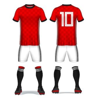 Conjunto de kit de futebol