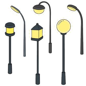 Conjunto de lâmpada ao ar livre