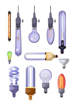 Conjunto de lâmpadas