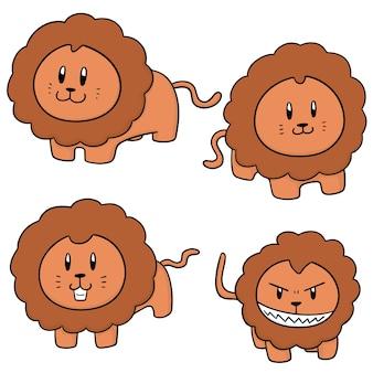 Conjunto de leões