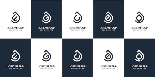 Conjunto de letra j de monograma de ilustração criativa e random.icon para negócios, equilíbrio.