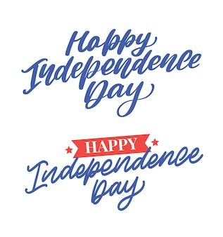 Conjunto de letras do dia da independência