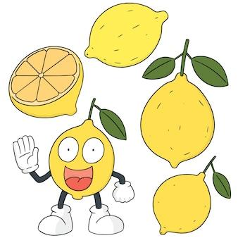 Conjunto de limão