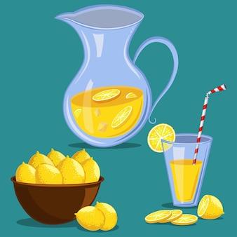 Conjunto de limonada