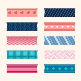 Conjunto de lindas fitas washi