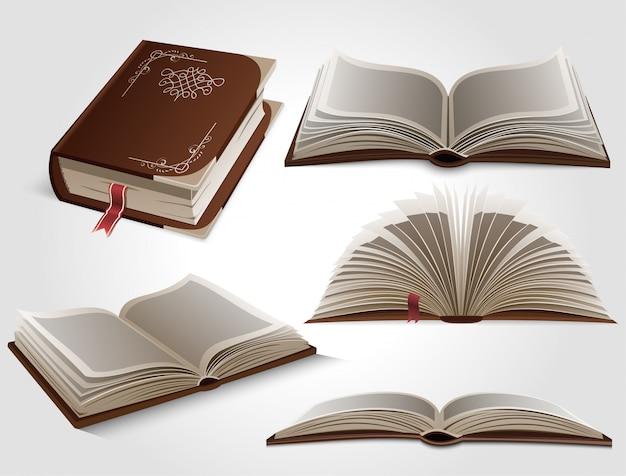 Conjunto de livros.