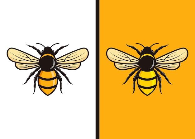 Conjunto de logotipo da vespa