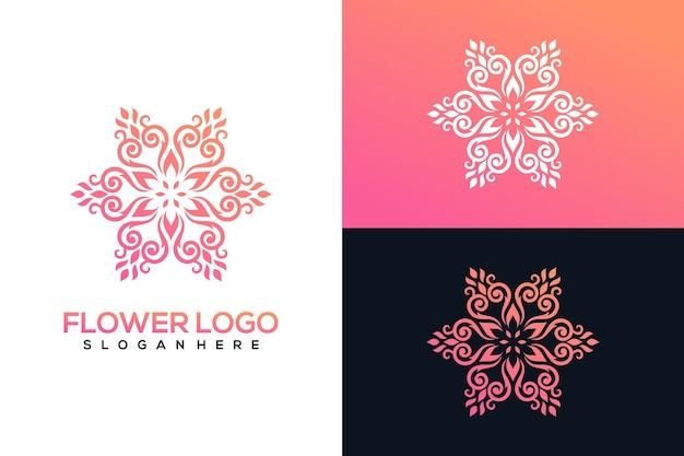 Conjunto de logotipo de estrela orgânica