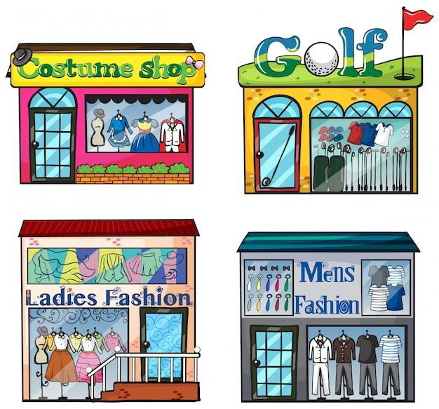 Conjunto de lojas