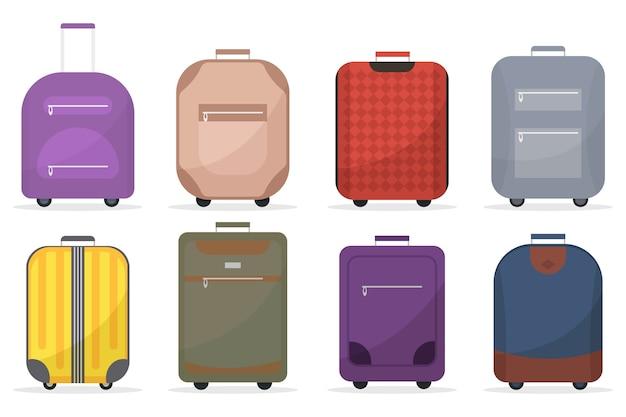Conjunto de mala de bagagem