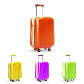 Conjunto de mala de viagem