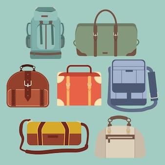 Conjunto de malas de viagem para viagem!