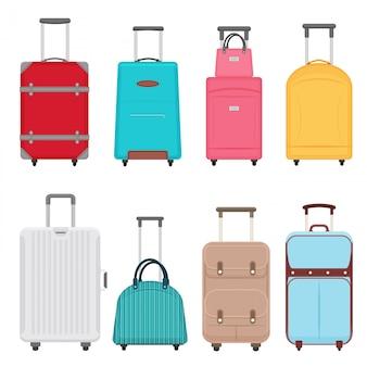 Conjunto de malas de viagem