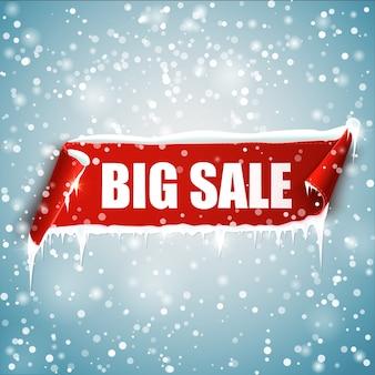 Conjunto de marca de oferta. fita vermelha de vetor isolada. banner de venda