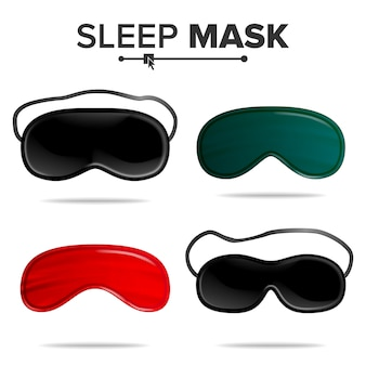 Conjunto de máscara de dormir