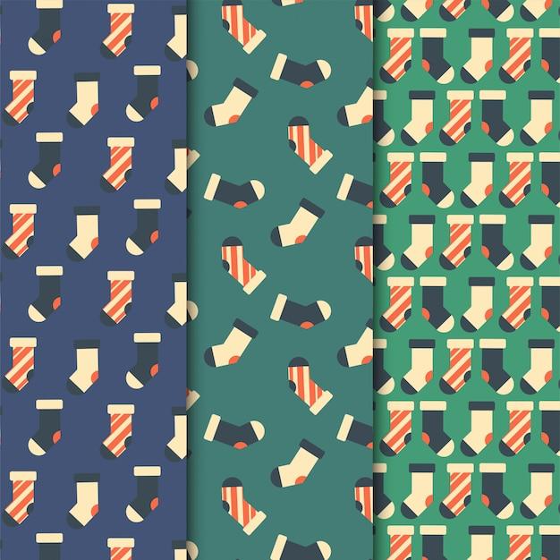 Conjunto de meias padrão