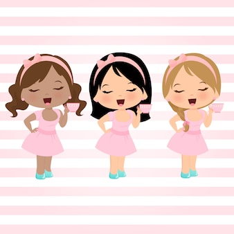 Conjunto de meninas