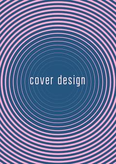 Conjunto de modelo de capa de gradiente. layout minimalista moderno com meio-tom. modelo de capa gradiente futurista para banner, apresentação e brochura. formas coloridas minimalistas. ilustração abstrata de negócios
