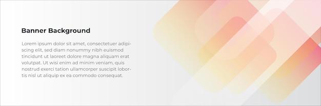 Conjunto de modelo de web de design de banner abstrato. banner de cabeçalho horizontal da web. molde abstrato do fundo do teste padrão da bandeira do design gráfico do vetor.