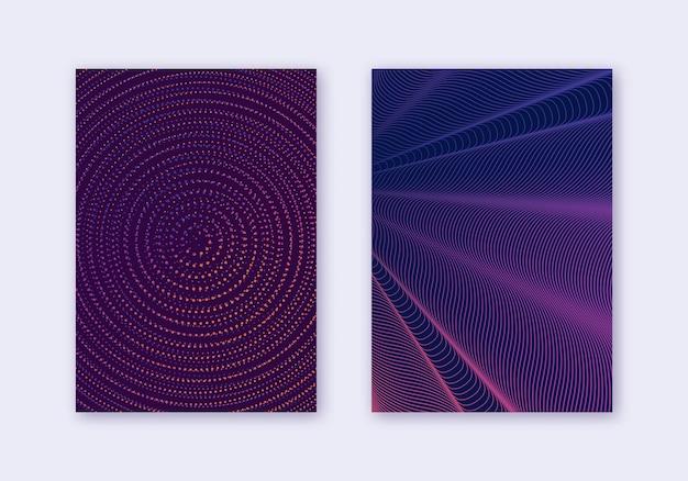 Conjunto de modelos de design de capa