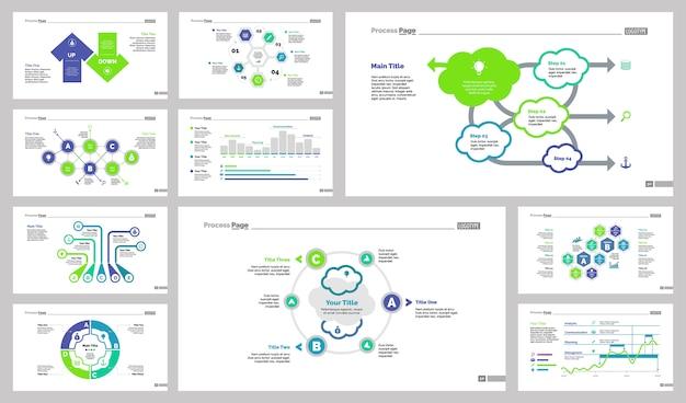 Conjunto de modelos de dez finanças slide