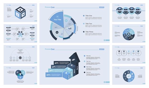 Conjunto de modelos de slide 10 analytics slide