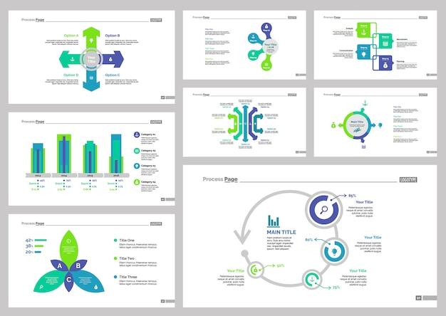 Conjunto de modelos de slide 8 consultoria
