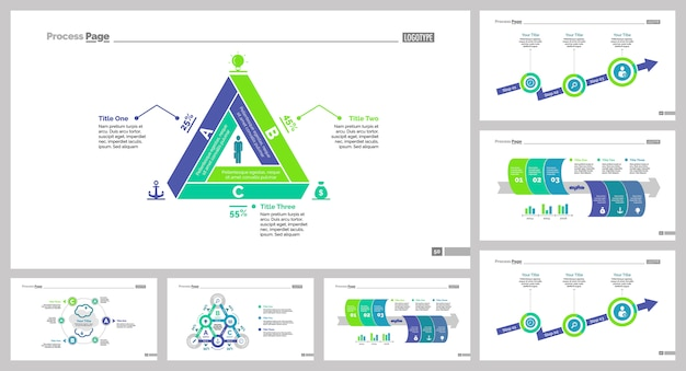 Conjunto de modelos de slide seven management
