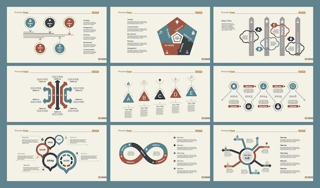 Conjunto de modelos de slide six economics