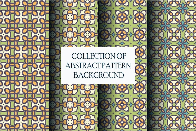 Conjunto de motivos de padrão abstrato