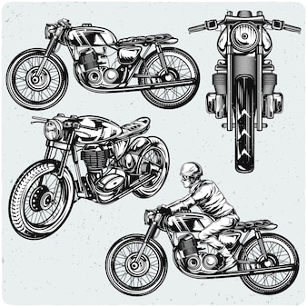 Conjunto de motocicletas