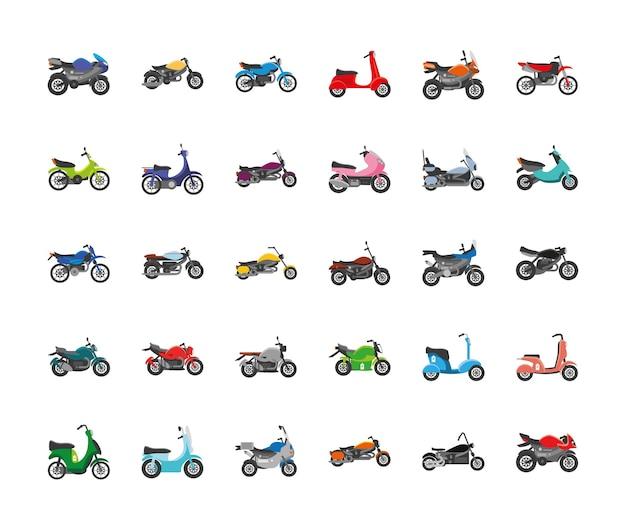 Conjunto de motos