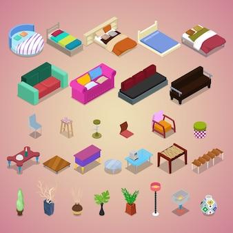 Conjunto de móveis de quarto
