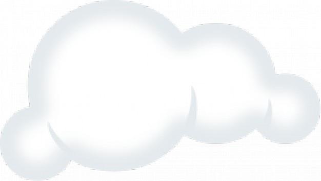 Conjunto de nuvens macias