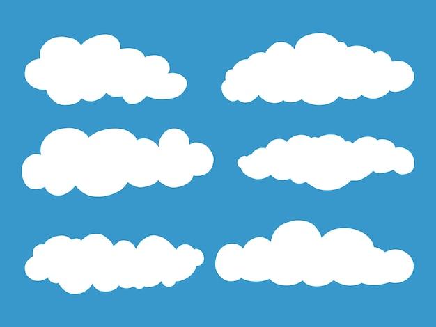 Conjunto de nuvens