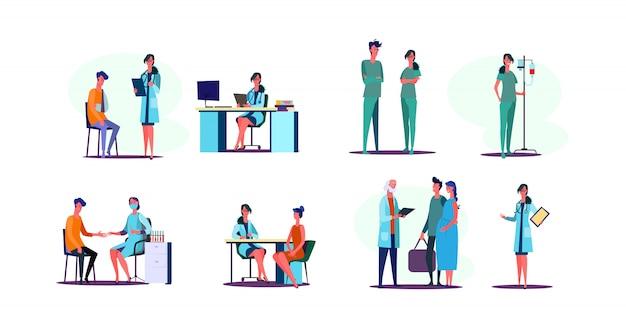 Conjunto de ocupação médica