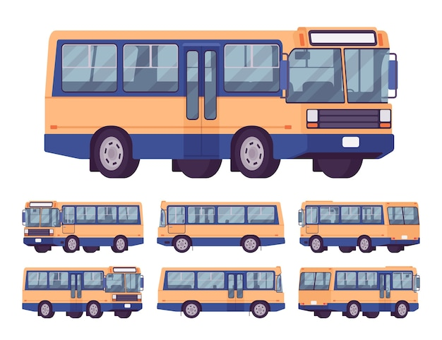 Conjunto de ônibus