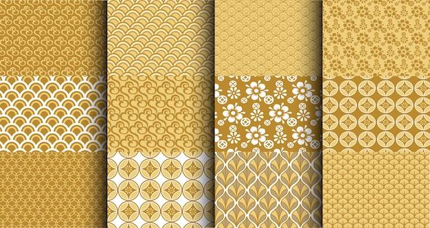 Conjunto de padrão chinês tradicional