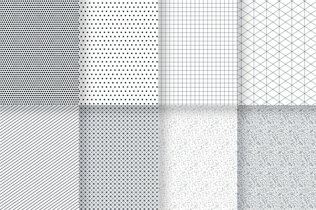 Conjunto de padrão geométrico mínimo