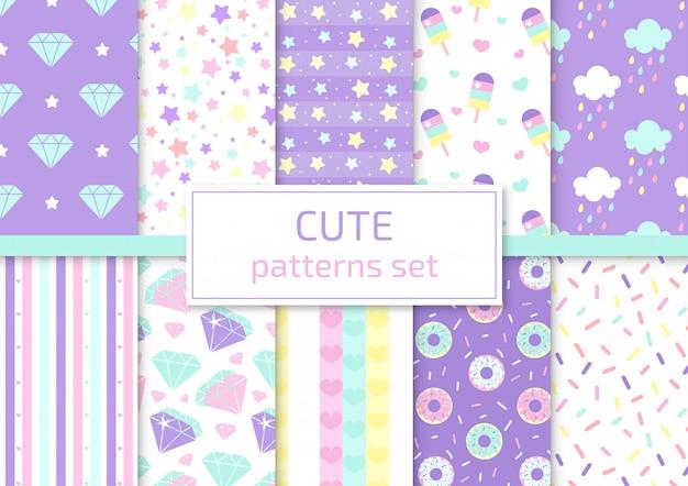 Conjunto de padrões bonitos