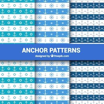 Conjunto de padrões de âncora