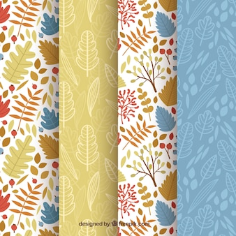 Conjunto de padrões, elementos de outono