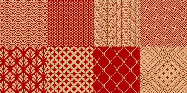 Conjunto de padrões sem emenda chineses