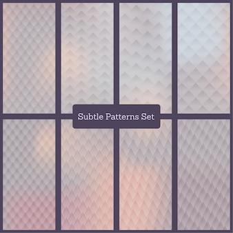 Conjunto de padrões subtle