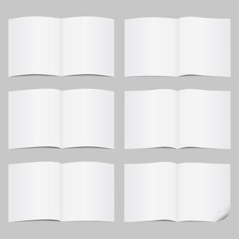 Conjunto de páginas abertas
