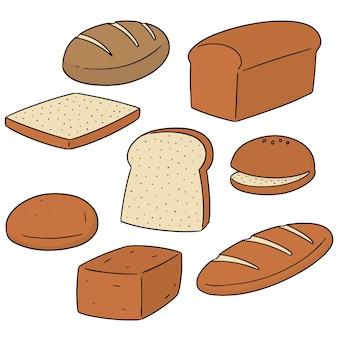 Conjunto de pão