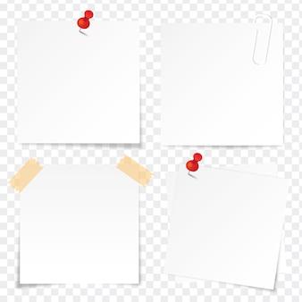 Conjunto de papel colante