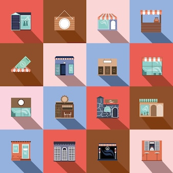 Conjunto de pequenas empresas de loja