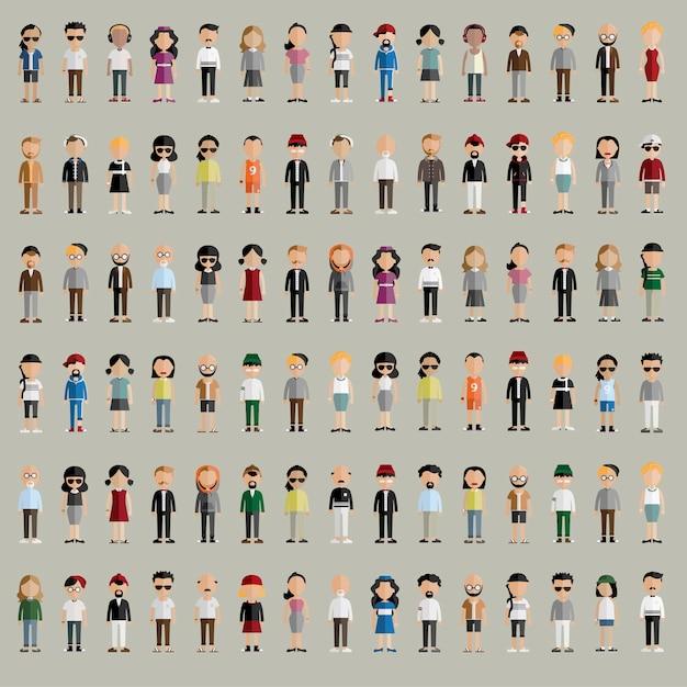 Conjunto de pessoas