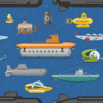 Conjunto de pigboats do mar ou veleiros marinhos